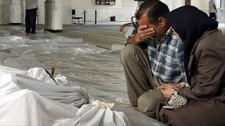 Innalillah... Rezim Syiah Assad Kembali Gunakan Gas Klorin di Ghouta Timur