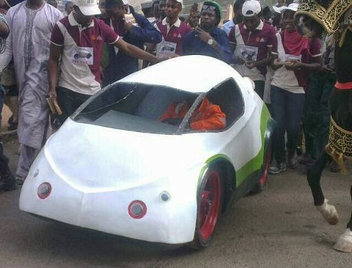 turtle car university of zaria