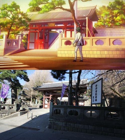 47 gambar Anime pemandangan rumah