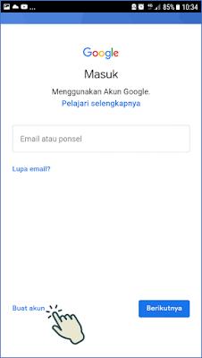 Cara 2 : Membuat Akun Gmail Melalui Aplikasi Gmail 5