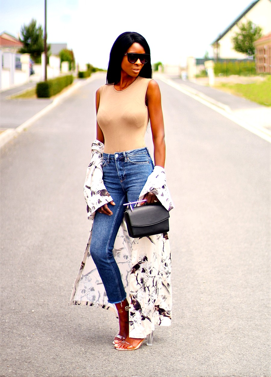 kimono-floral-jeans-moto-topshop-sandales-perspex-sac-anse-metal