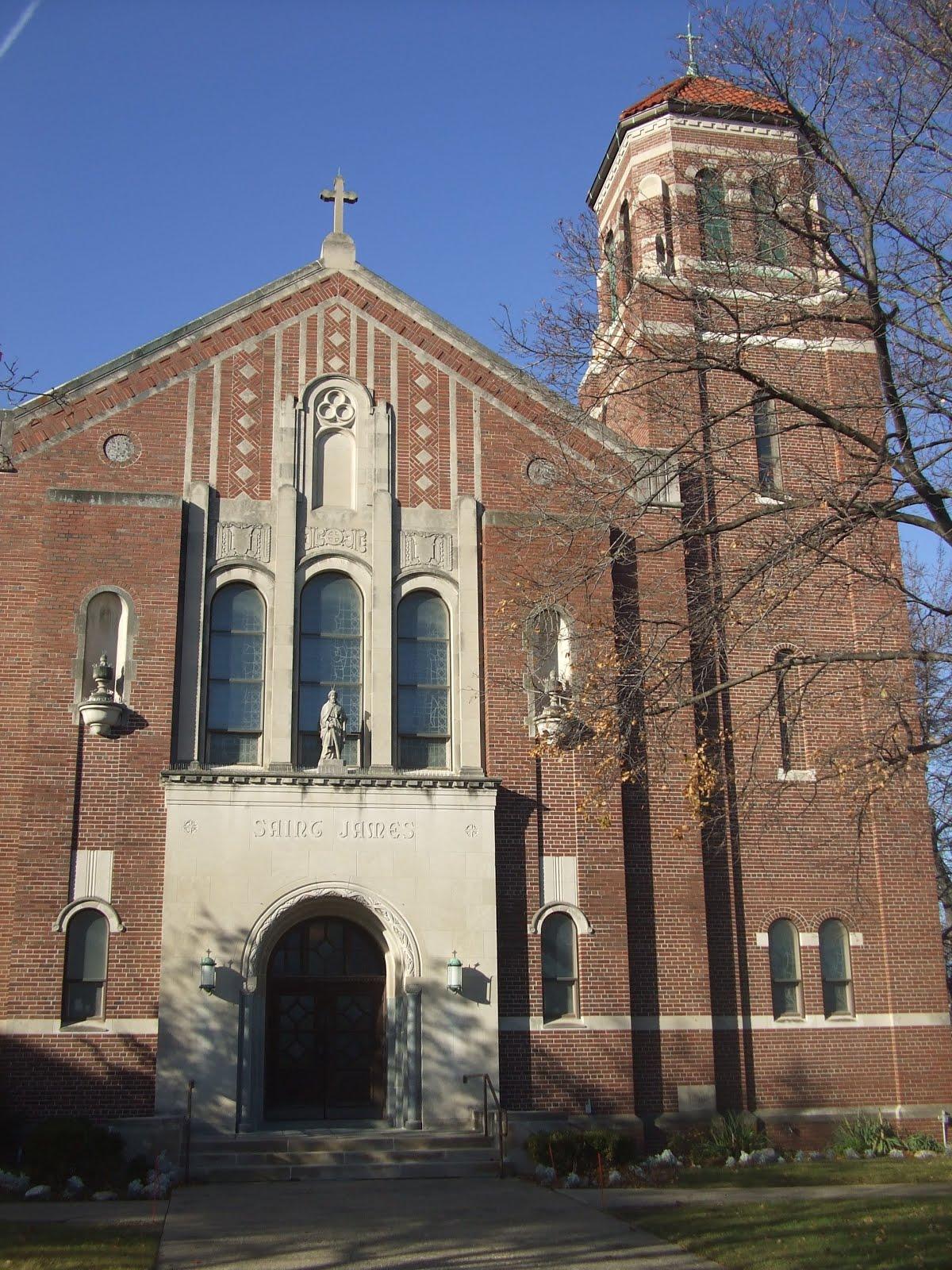 Detroit Church Blog: St  James Church, Ferndale (Our Mother of