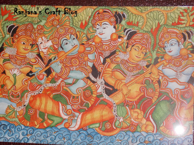 Kerala Mural on canvas