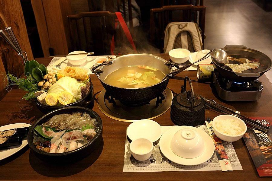 草屯火鍋餐廳-鼎唐風芋香肉漿