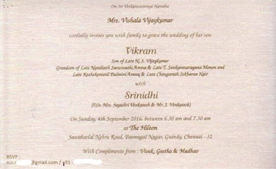 director-vikram-k-kumar-wedding-card