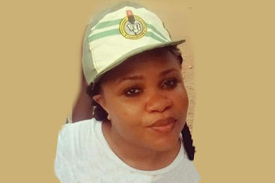 Tears As Body of Female Corper Who Died In Camp Goes Home
