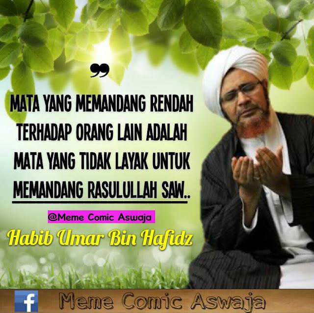 Kata Mutiara Peyejuk Hati dari Habib Umar Bin Hafidz