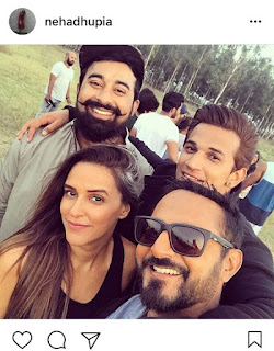 Neha Dhupia shares a sweet message for fellow gang leaders at Roadies!