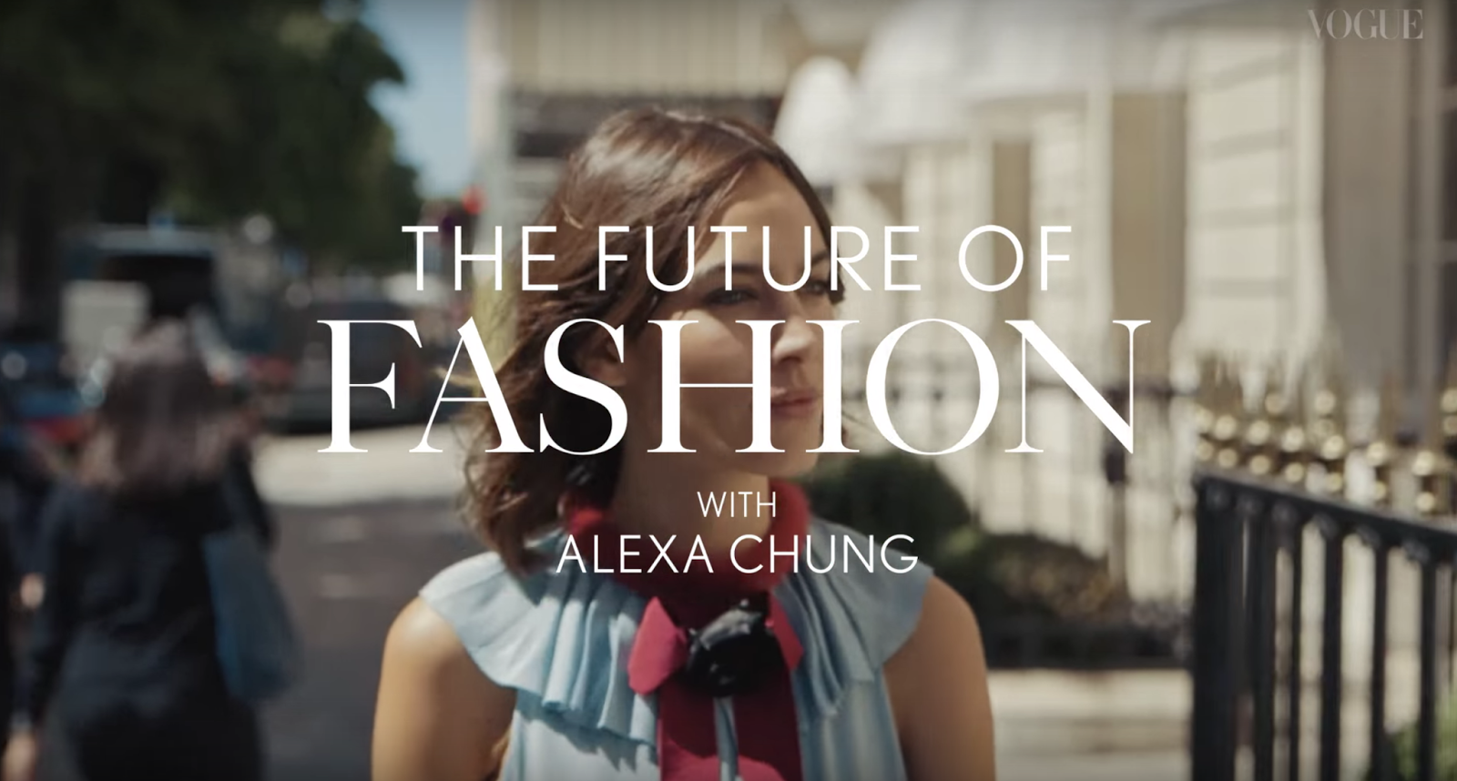 alexa chung british vogue youtube fashion fblogger fbloggers youtuber bblogger beauty lifestyle kirstie pickering thoughts review magazine opinion