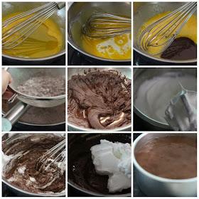 Nasi Lemak Lover Japanese Dark Pearl Chocolate Chiffon