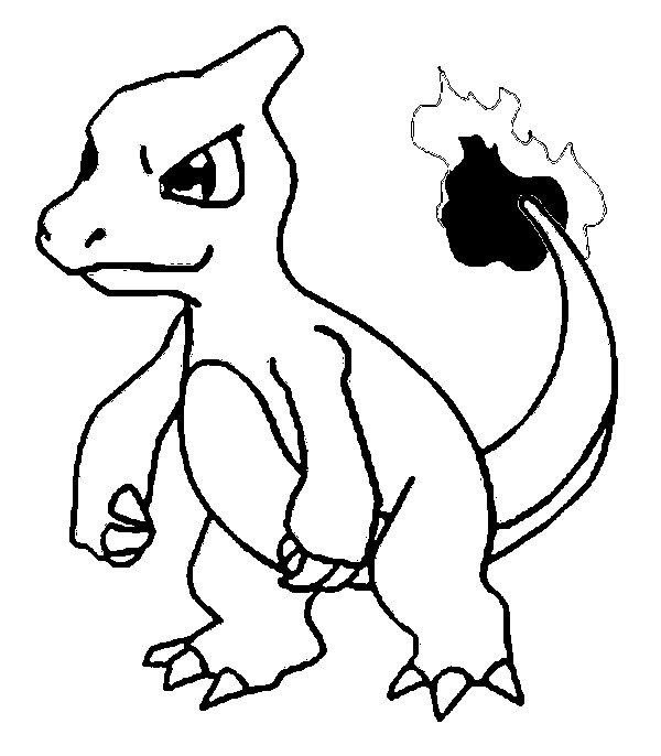 pokemon free coloring pages pikachu ash charmander