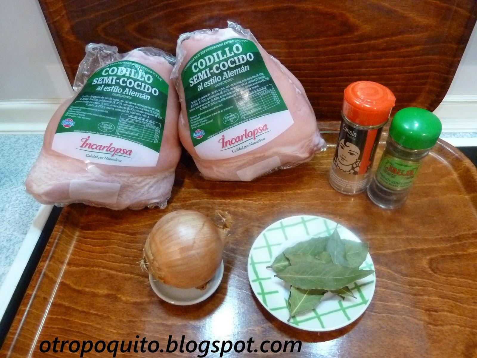 Cocinar Codillo Salmuerizado | Codillo Con Pure De Patatas Otro Poquito