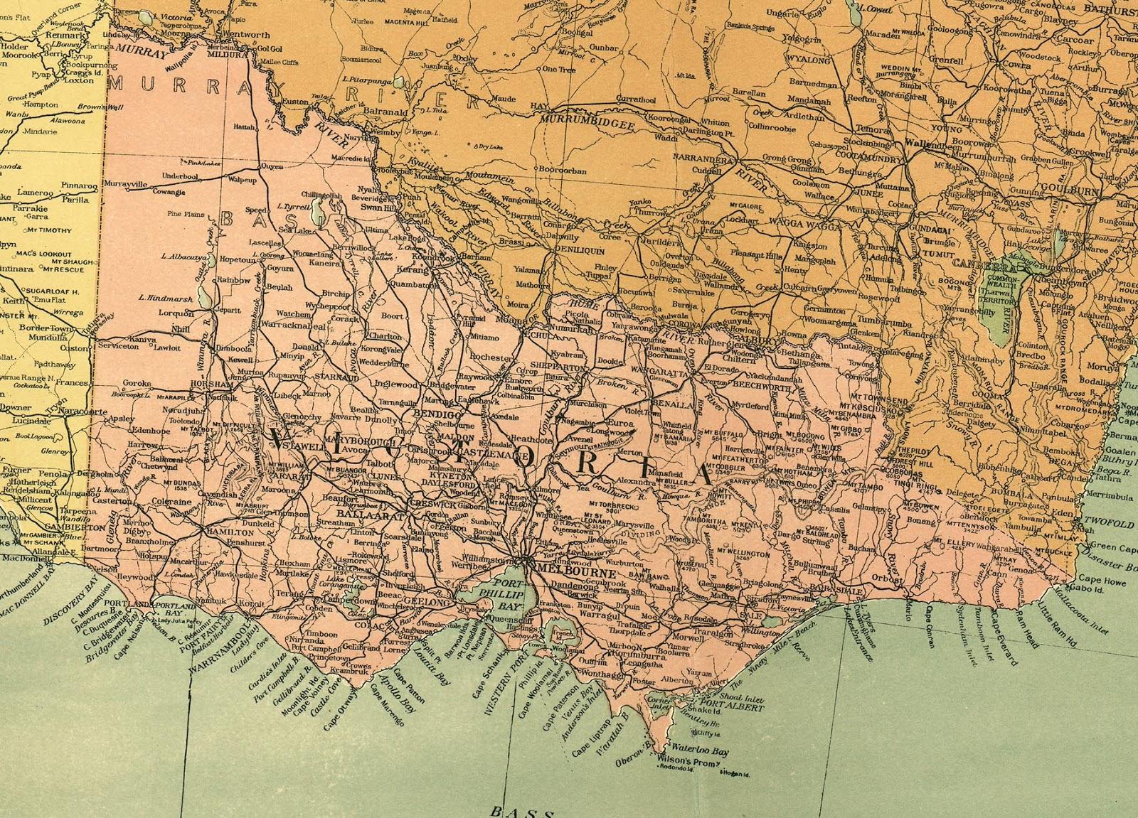 Big Blue 1840-1940: Victoria