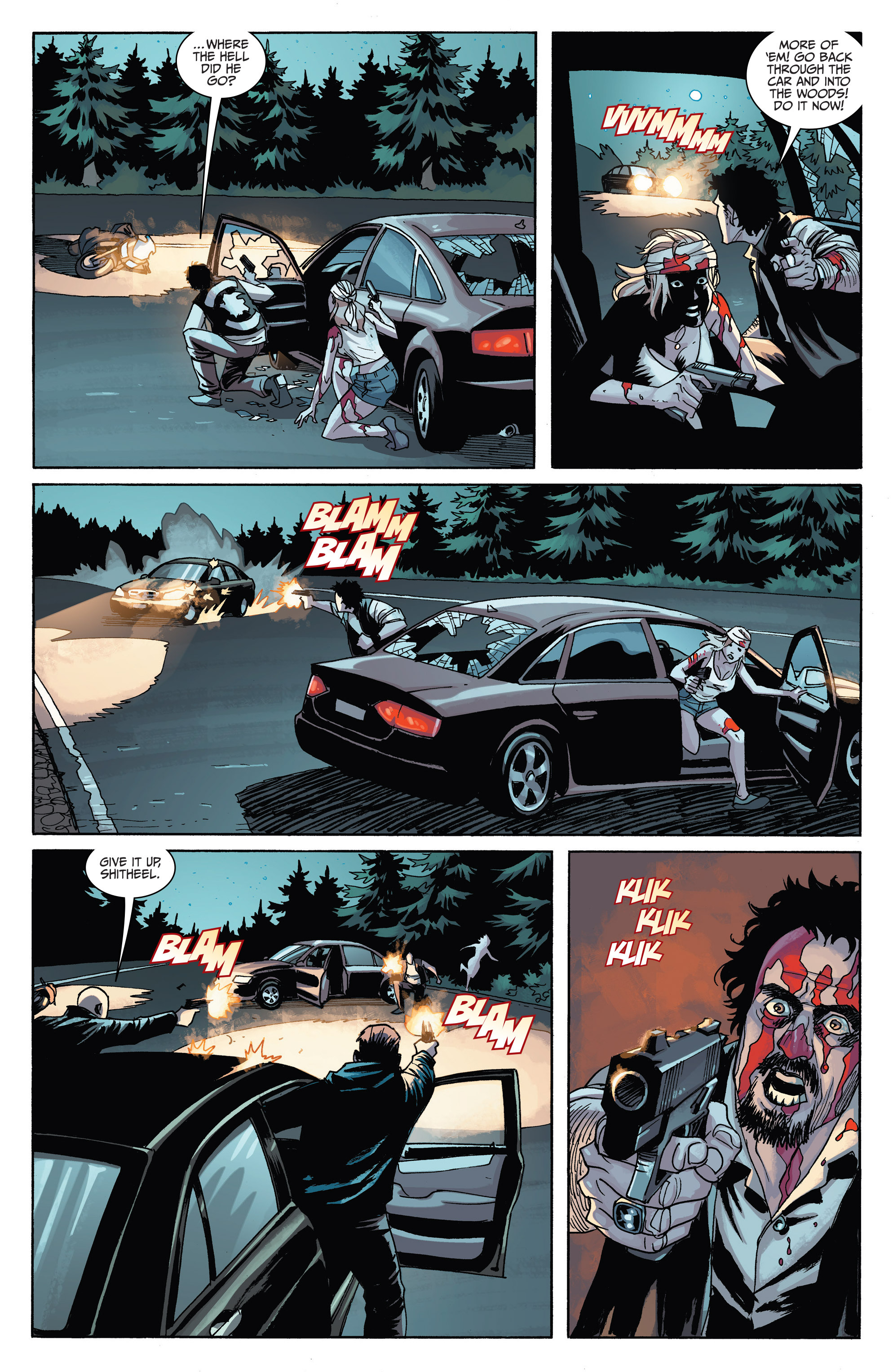 Read online Sons of Anarchy comic -  Issue #6 - 20