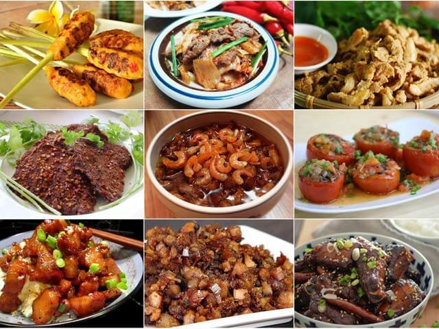 Sách dạy chế biến các món ăn từ thịt heo siêu ngon + đẹp + lạ