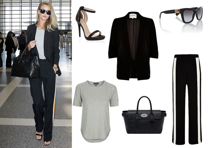 april celeb style; street style; celebrity style; get the look; rosie huntington whiteley