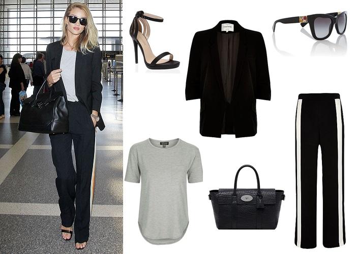 april celeb style; street style; celebrity style; get the look; rosie huntington whiteley