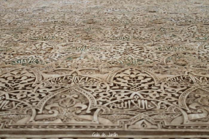 Inscripciones muros Alhambra