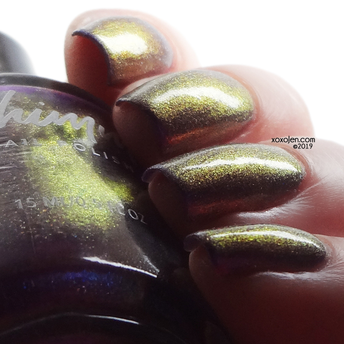 xoxoJen's swatch of kbshimmer Trend Sweater
