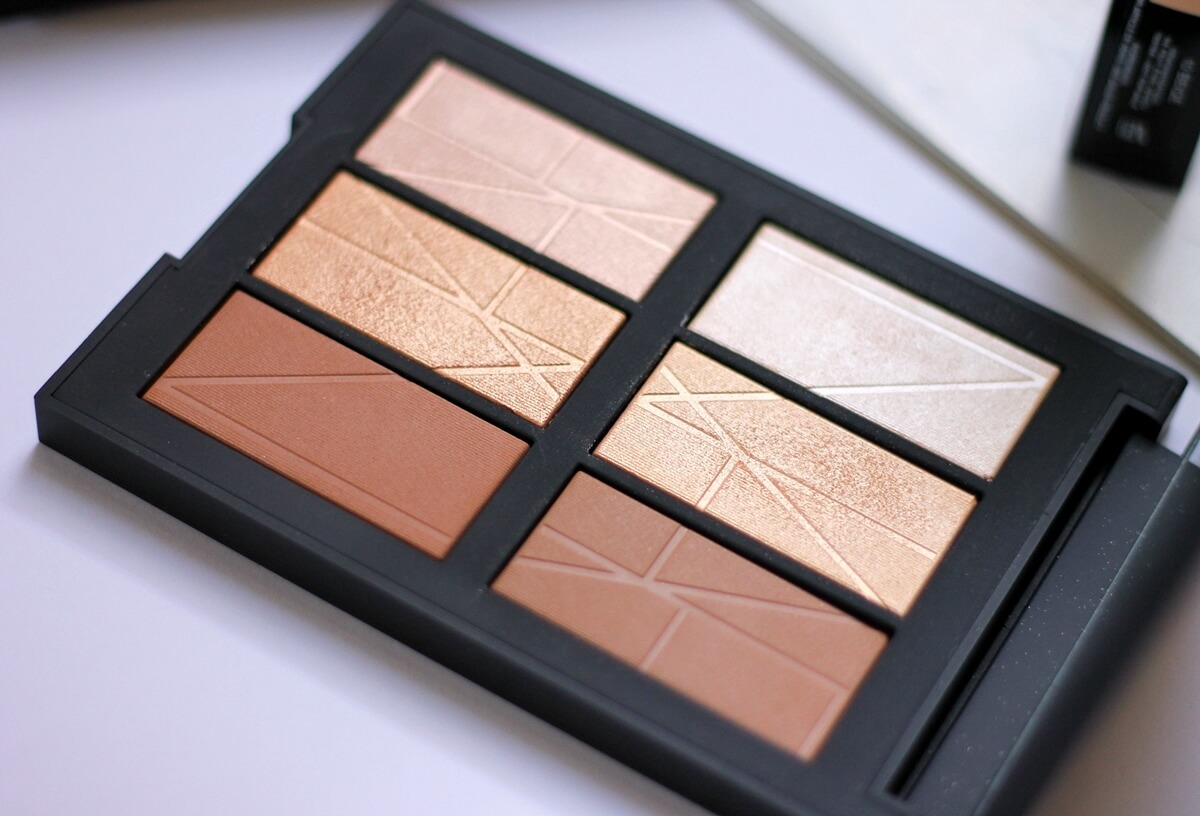 nars bord de plage palette close up