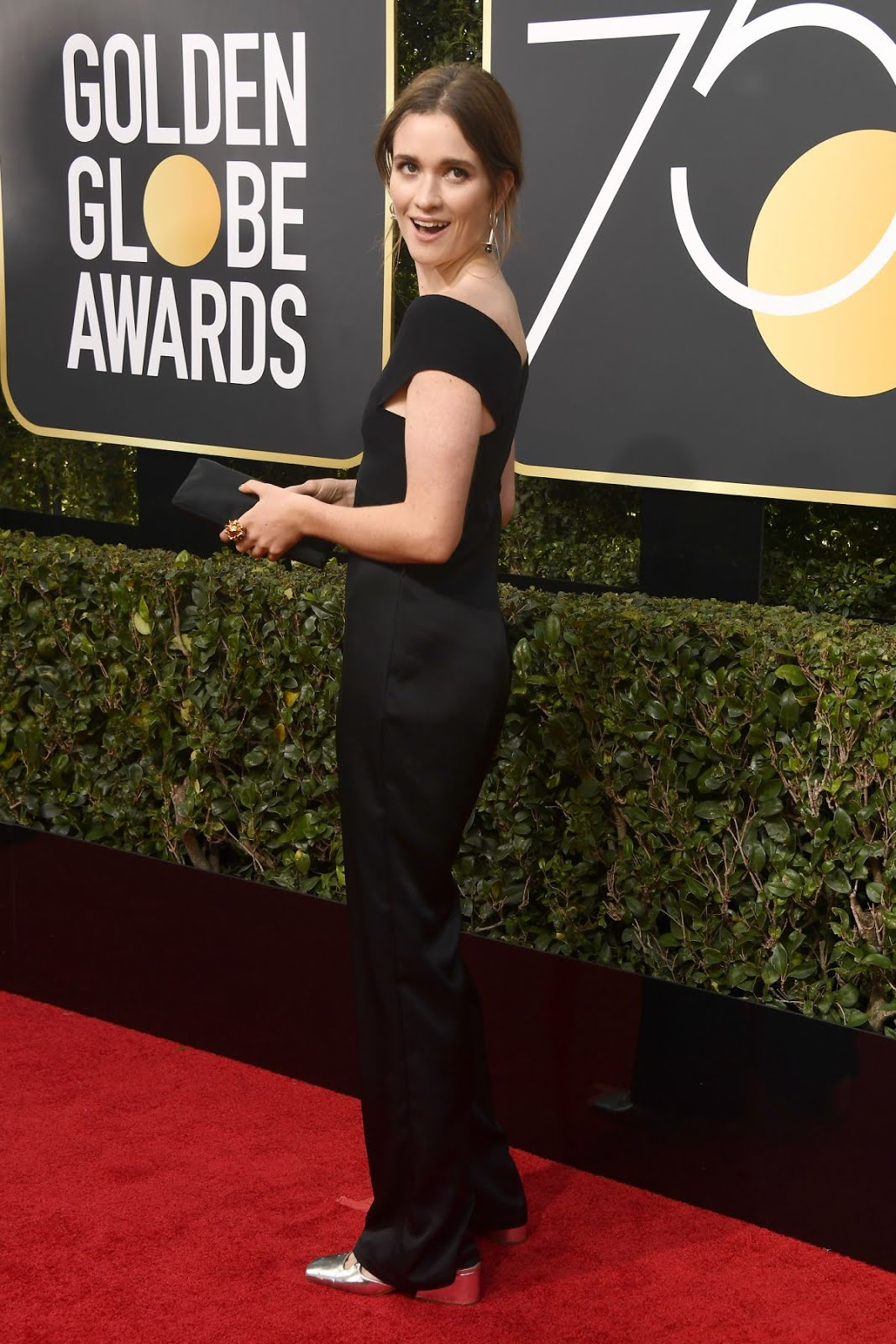 Alice Englert At 75Th Annual Golden Globe Awards In Beverly Hills