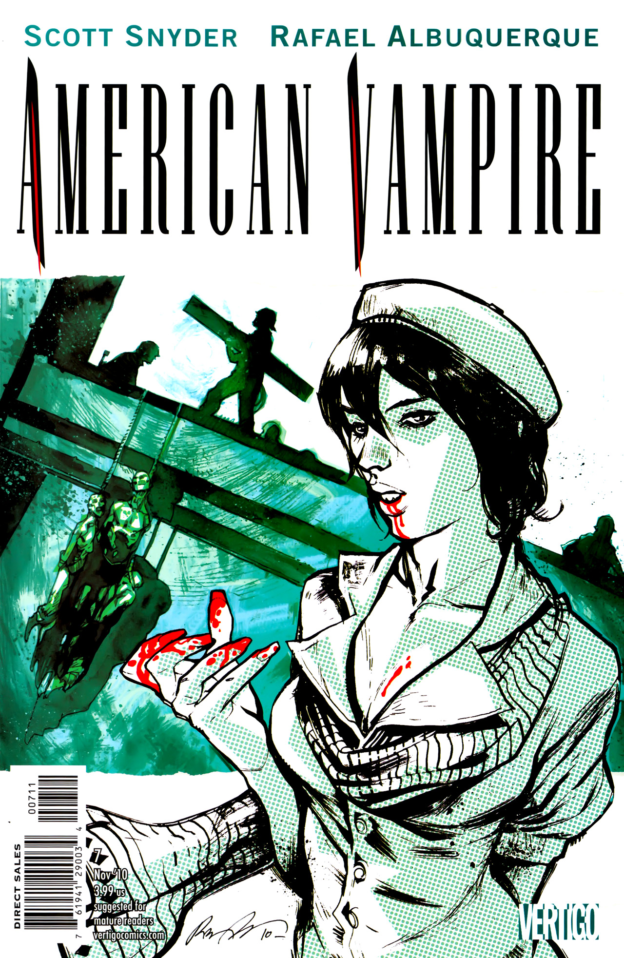 Read online American Vampire comic -  Issue #7 - 1