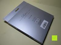 Verpackung Rückseite: KINGTOP 48er Buntstifte Schaft Farbstift Eco Bleistifte Kartonetui für Kunst Aquarelle gut Geschenk