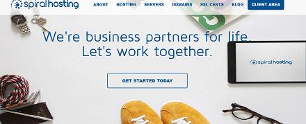 Spiral Hosting, The Business Partner