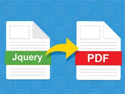 Jquery to PDF Generator