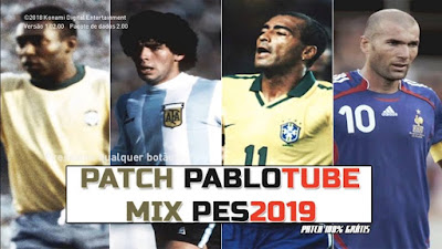 PES 2019 Patch PabloTube MIX Season 2018/2019