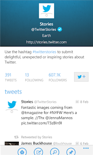 Twitter App for Windows Phone 8 and 7.5