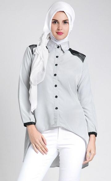 Kreasi Baju Muslim Hijab Modern 2015