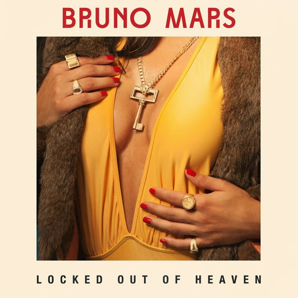 Bruno Mars - Locked Out of Heaven - Single Cover
