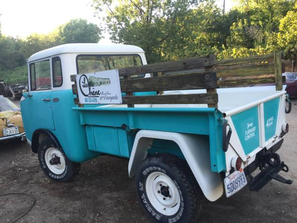 Willys Jeep Truck For Sale >> 1961 Jeep FC150 4x4 Truck For Sale - 4x4 Cars