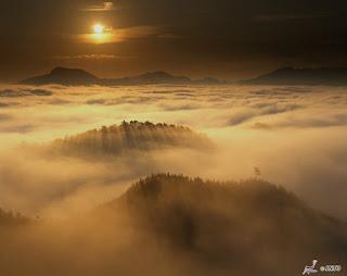 Unique Japan Tours Kumano Kodo Mountains Clouds