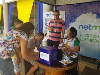 Netmark participa da Feira de Ciência do IFPB Picuí