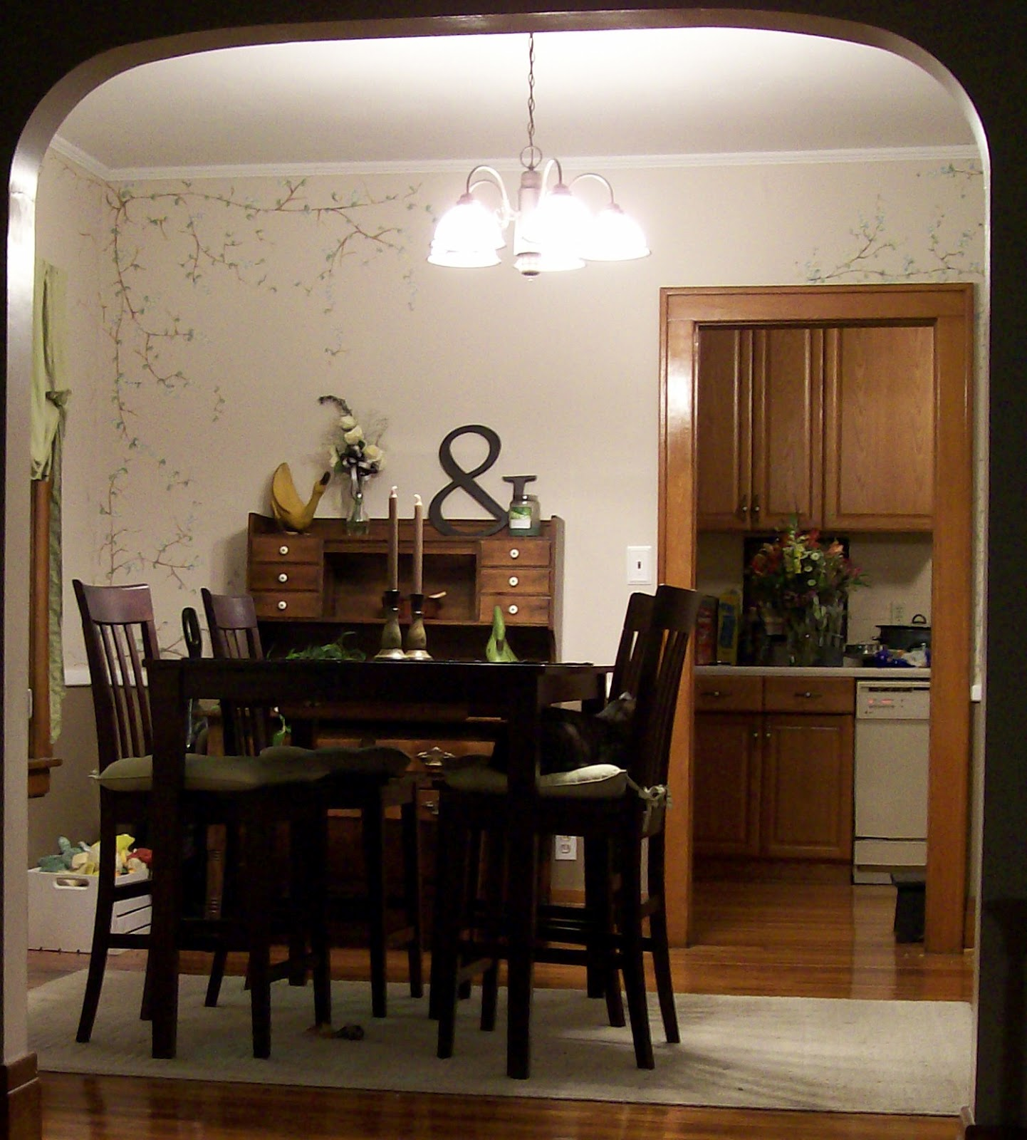 20 Small Dining Room Ideas On A Budget: NikkiMdesign: Small Budget Redesign: Dining Room Redone
