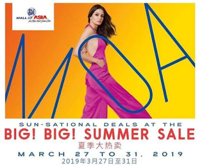 SM MOA 3-day sale
