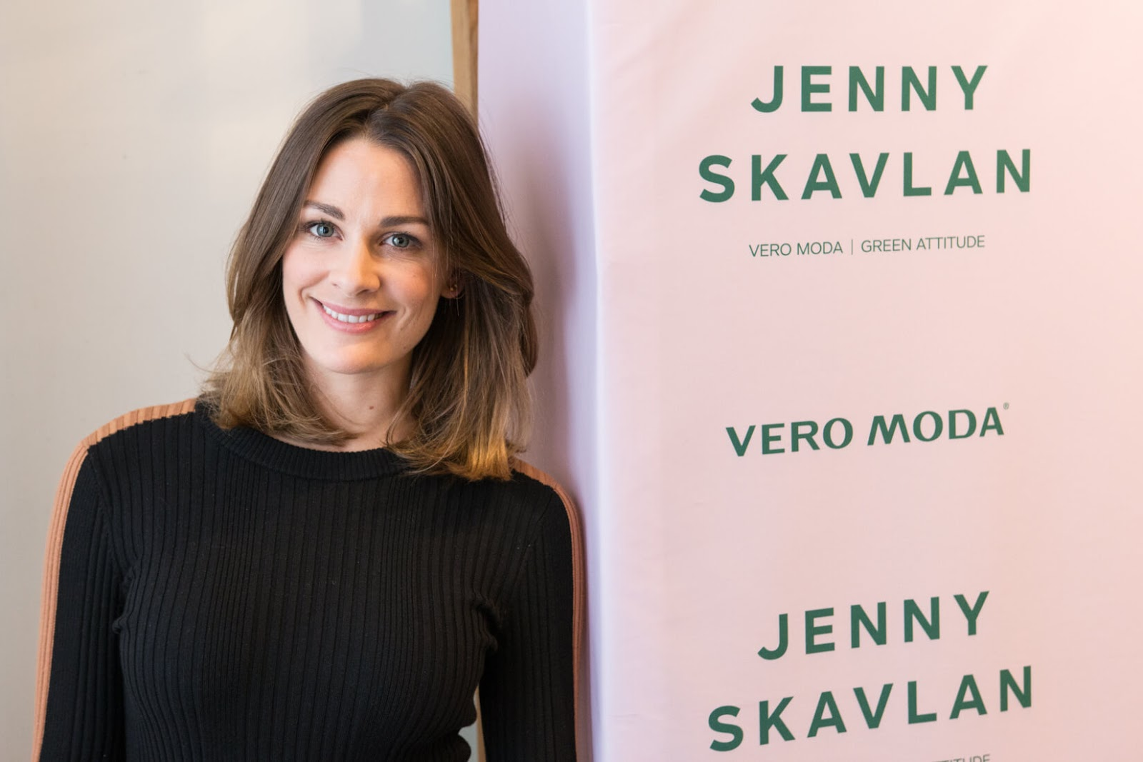 b10aca54 FASHION IN OSLO: Go green with Jenny Skavlan for Vero Moda