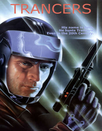 Poster Of Trancers 1984 Dual Audio 720p BRRip [Hindi - English] ESubs Free Download Watch Online Worldfree4u