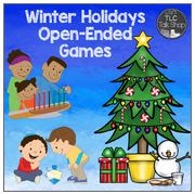 https://www.teacherspayteachers.com/Product/Winter-Holidays-Open-Ended-Games-2221095