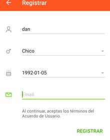 Como registrarse en Wamba desde app Movil