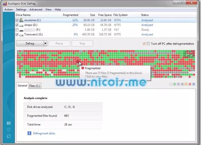 Cara meningkatkan kecepatan performa komputer / laptop dengan cara defrag hard disk
