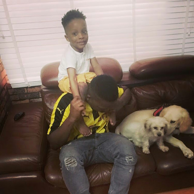 Olamide's Son, Batifeori Adedeji All Grown Up And Cute In New Photo