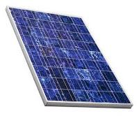Placa solar fotovoltaica.