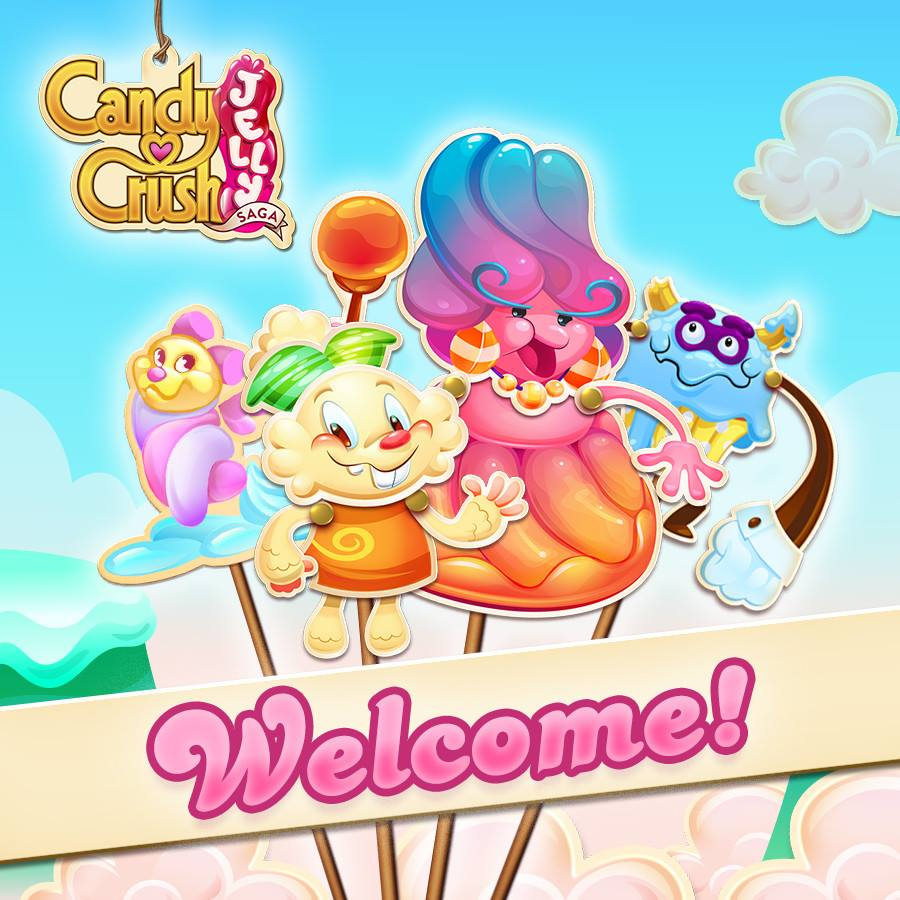 Candy Crush Jelly Saga Saga 1-20