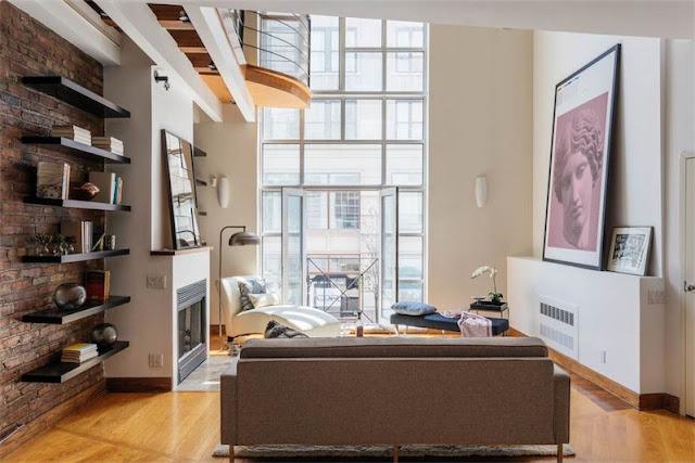 espectacular loft en Chelsea, NYC chicanddeco