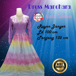 Gambar Long dress Pelangi