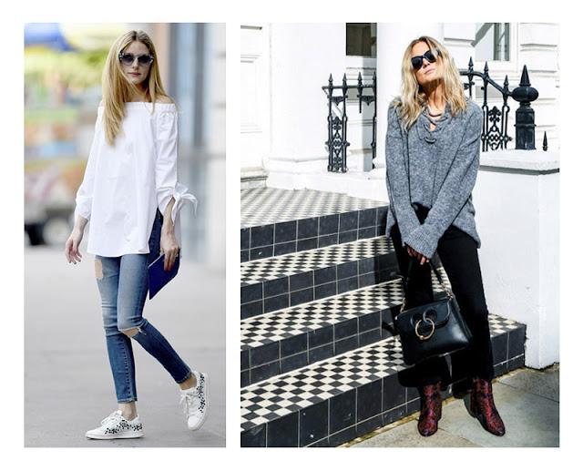 Девушки в узких джинсах и свободном топе