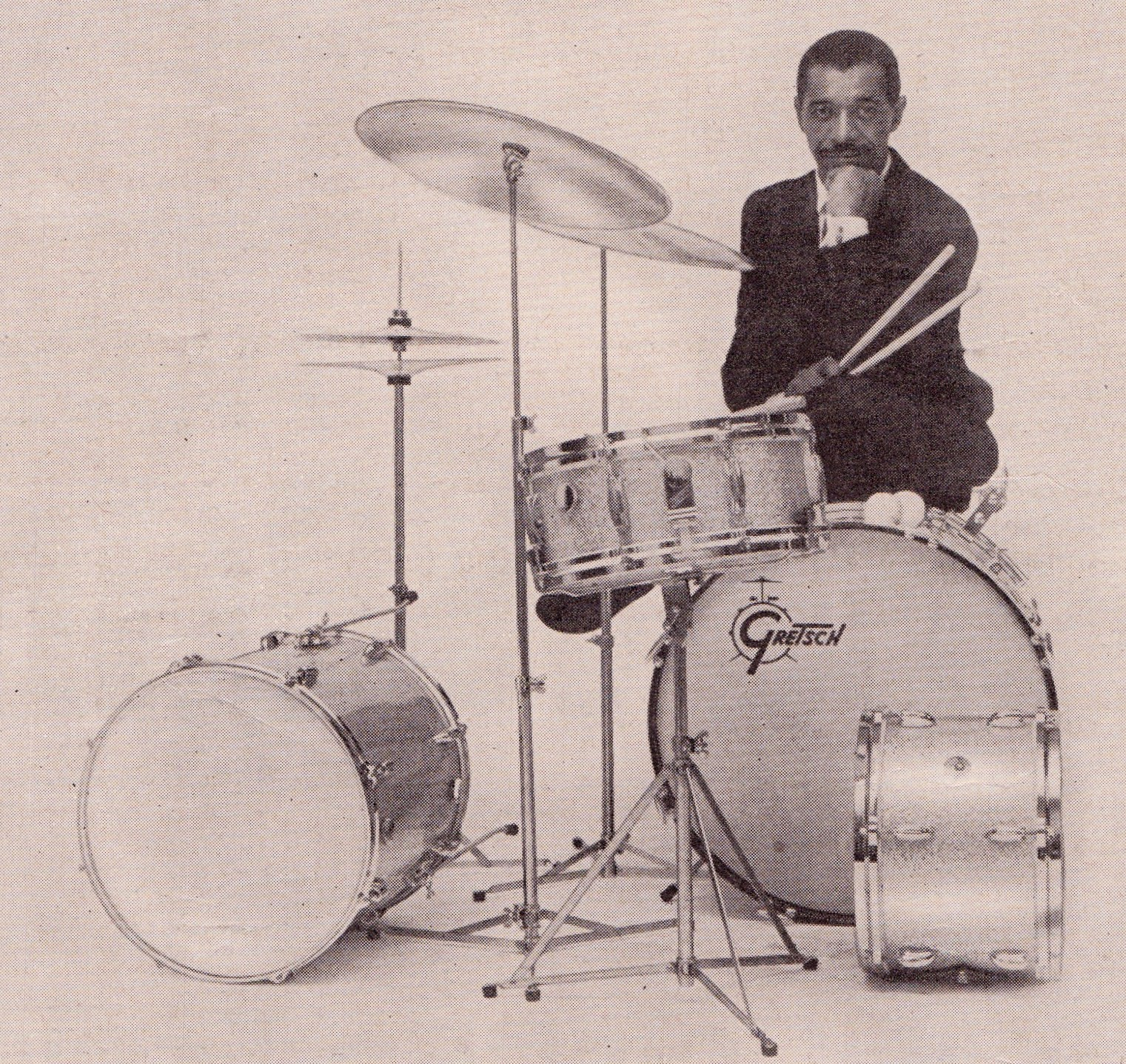 In The 1950s And 60s World Of Drumming Was Changing Dramatically With Advent Rock Nroll